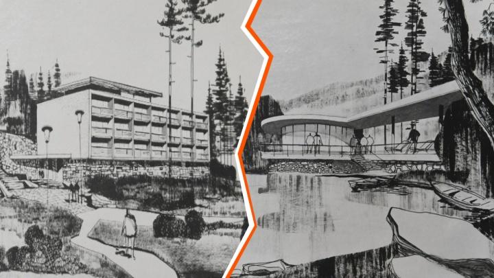 С театром, конюшней и кинозалом: разглядываем план реконструкции ЦПКиО 40-летней давности
