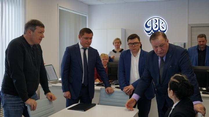 Депутаты Госдумы посетили «Ярославльводоканал»