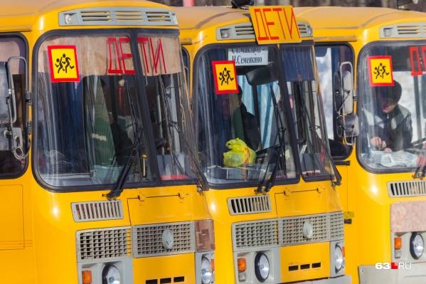 Автобусы будут курсировать утром и днем