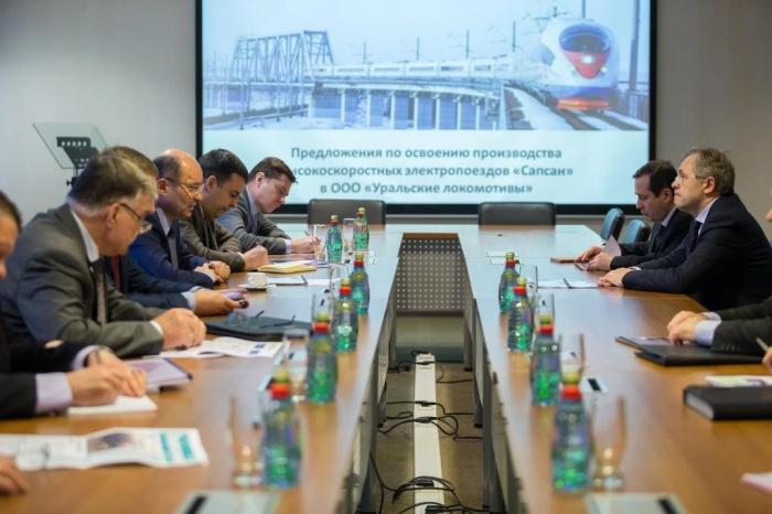 «Сапсаны» могут начать свой путь не в Германии, не в Москве, не в Санкт-Петербурге, а в Верхней Пышме