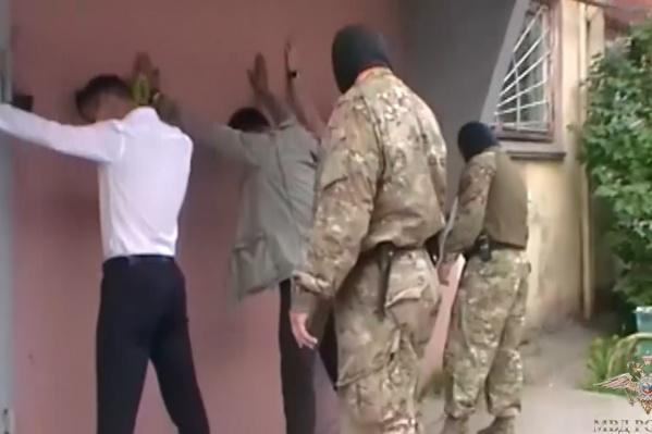 Участников банды задержали прямо в их арендованном офисе