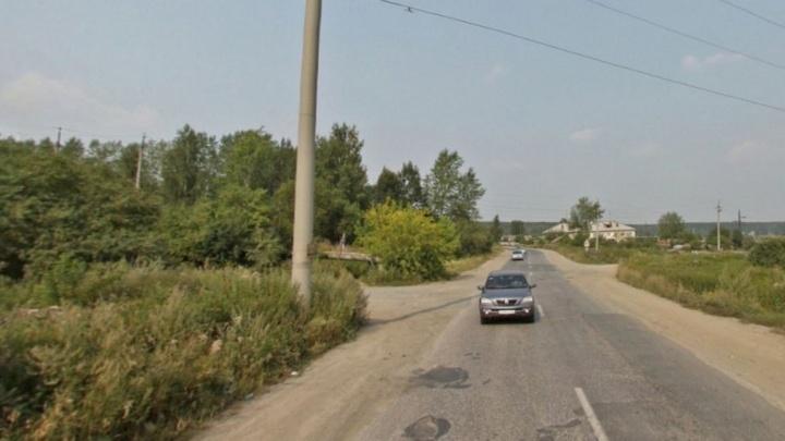 В районе Кольцовского тракта на обочине нашли труп мужчины