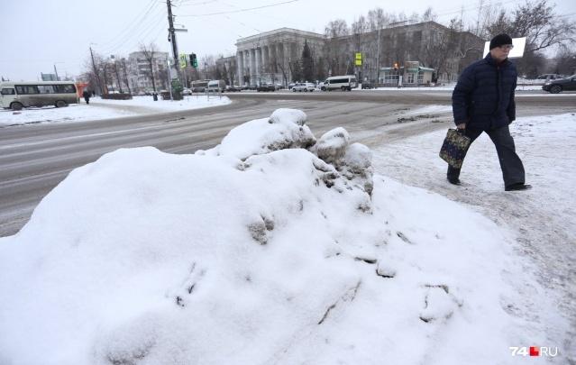 В Челябинске к лету организуют новые свалки для снега. Цену контракта сбили в пять раз