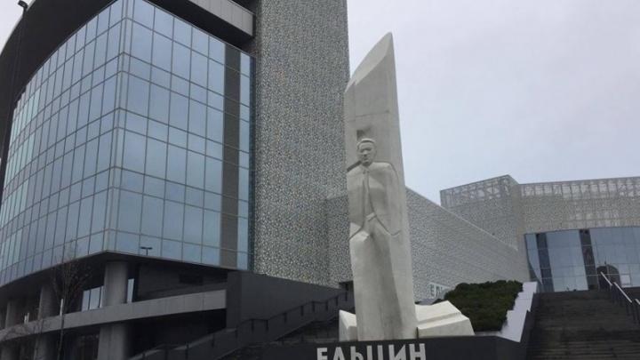 Игоря Щуку, который пытался поджечь памятник Ельцину, приговорили к году принудительных работ