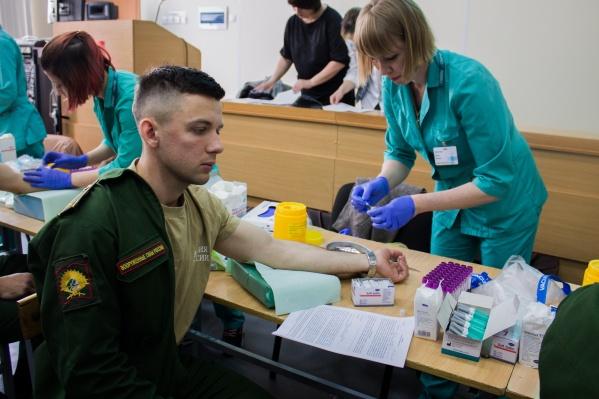 Акцию, которая должна помочь Михаилу Голикову, устроили 16 мая в военном училище