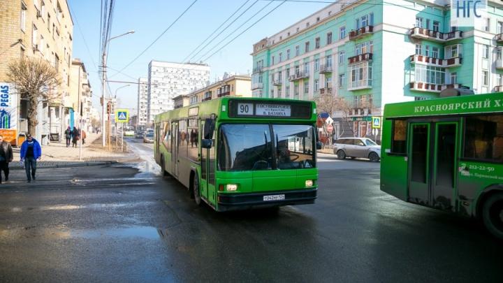Красноярских маршрутчиков захотел потеснить федеральный перевозчик