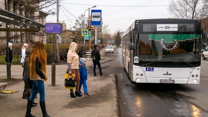 В пяти местах по городу ввели новые автобусные остановки