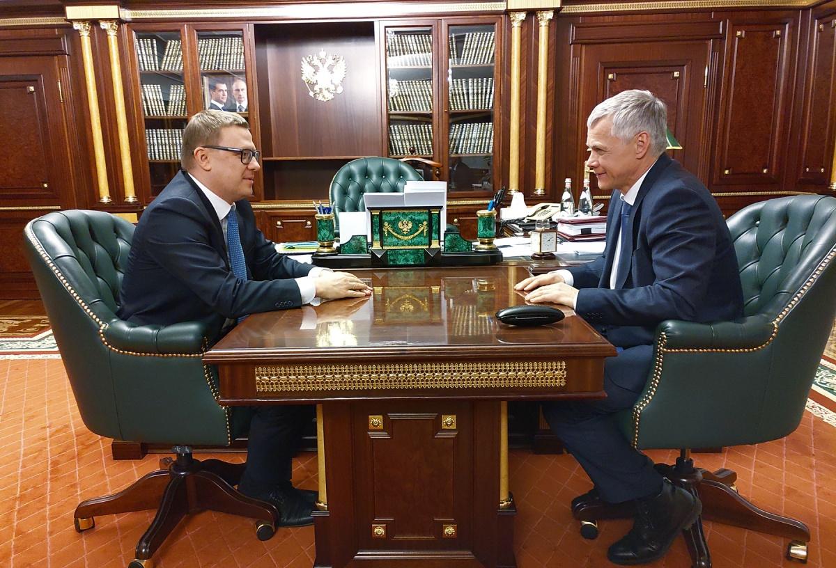 Алексей Текслер и Валерий Гартунг поговорили о проблемах региона и точках роста