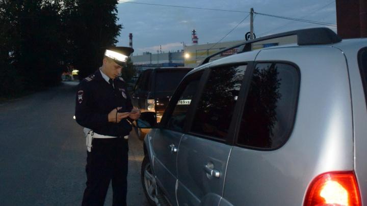 За выходные инспекторы ГИБДД поймали в Екатеринбурге 23 пьяных водителей