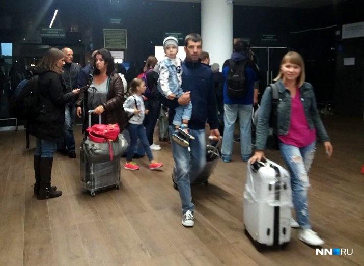 Нижегородцы вернулись домой изТурции сзадержкой практически нанеделю