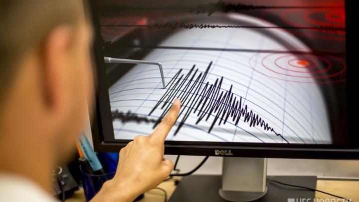 В 230 километрах от Новосибирска произошло землетрясение