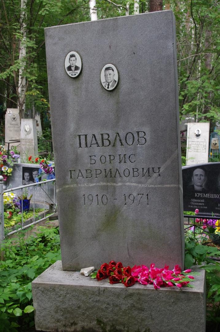 Борис Гаврилович Павлов — советский инженер-механик. Лауреат Сталинской премиипервой степени