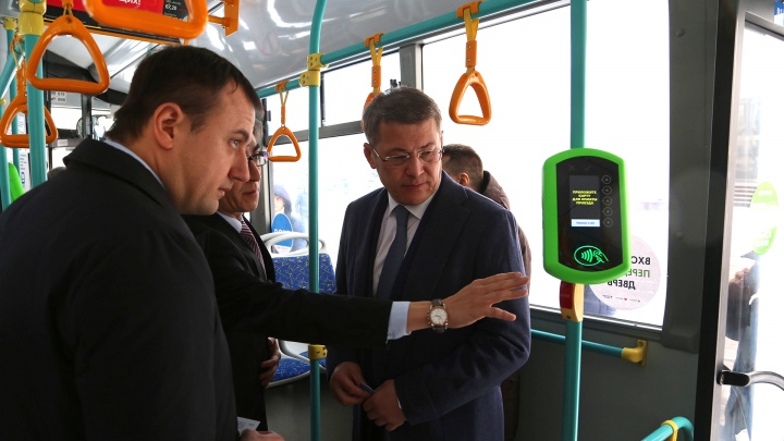 «Это не мой каприз»: Радий Хабиров рассказал о работе транспортной карты «Алга» в Уфе