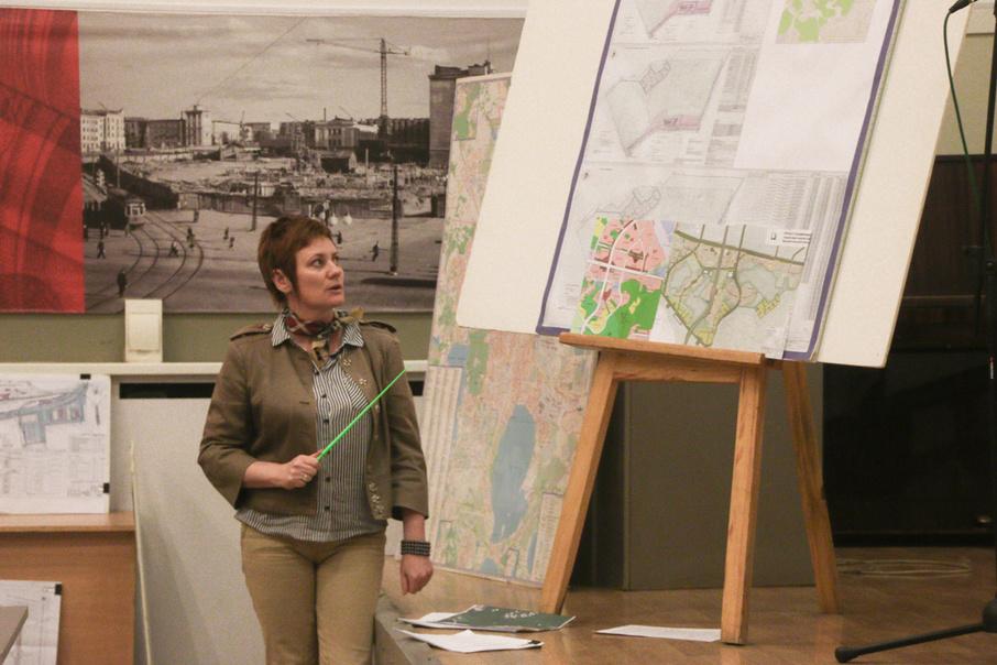 Новый проект планировки, предполагающий прокладку газопровода, вызвал у жителей протест