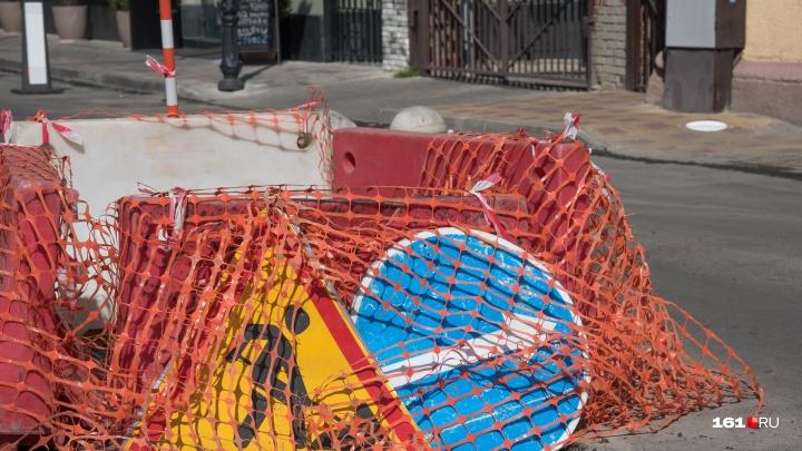 Правая полоса проспекта Буденновский будет перекрыта из-за реконструкции улицы Станиславского