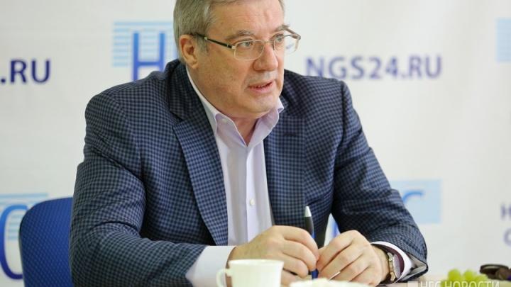 Мэр Новосибирска решил сделать экс-губернатора края Толоконского своим советником