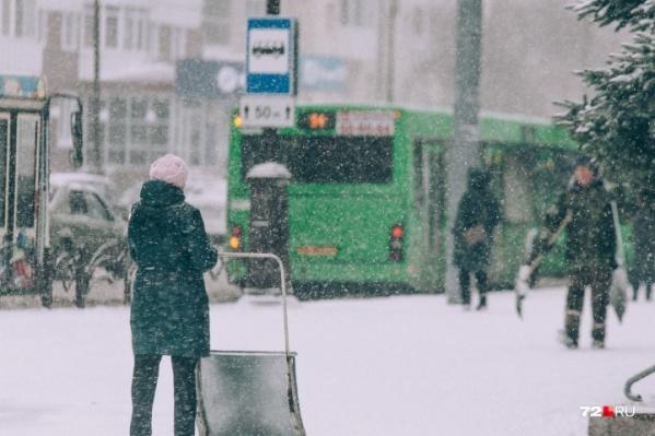 По данным синоптиков, погода в конце года в Тюмени и в области будет переменчивой