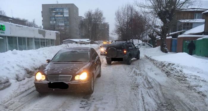 Столкновение произошло около 17 часов, сообщает «Автоспас»