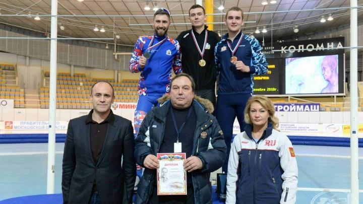 Архангелогородец взял серебро на Всероссийских соревнованиях по конькобежному спорту