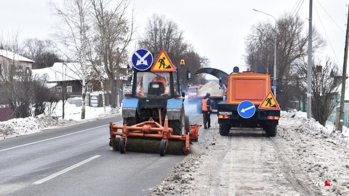 Ярославских водителей попросили не мешать и не ездить сегодня по федеральной трассе