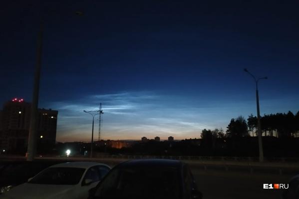 Облака невероятно красиво смотрятся