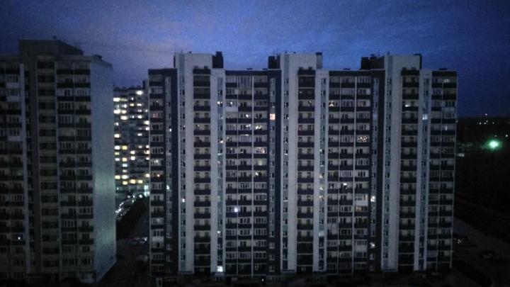 Часть микрорайона на Первомайке осталась без света и воды