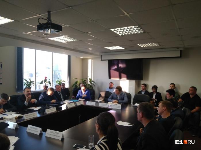 Это представители рынка такси со всей страны, которые собирались в Екатеринбурге, чтобы обсудить изменения в законе о такси