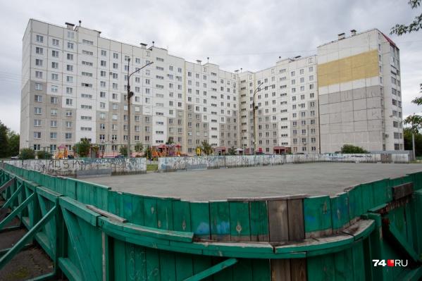 Дом для полицейских построили на месте большого стадиона «Динамо»