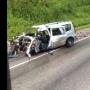 На трассе Полазна — Чусовой столкнулись Largus и фура с цементом. Один из водителей погиб