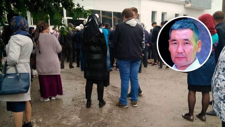 В Екатеринбурге простились с главой киргизской диаспоры, которого убили на Уралмаше