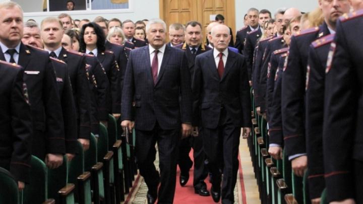 Глава МВД России представил личному составу МВД Башкирии новых руководителей