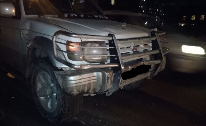 ВодительMitsubishi скрылся с места аварии, сообщает «Автоспас»