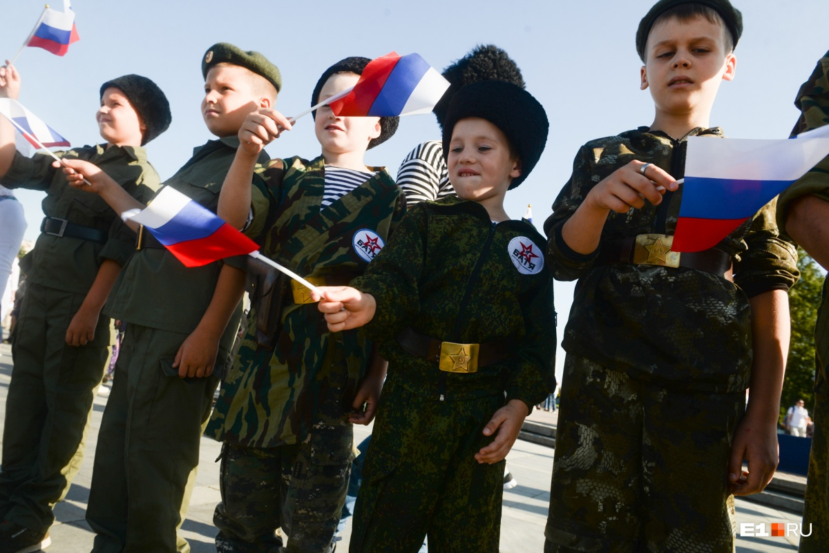 В празднике приняли участие дети