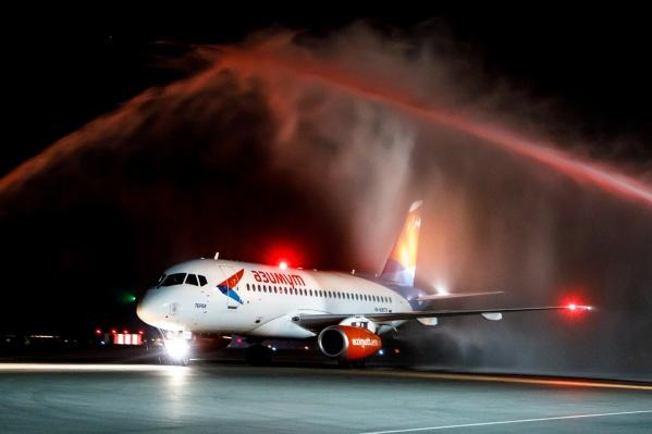 Самолеты до Ростова-на-Дону будут летать по понедельникам и четвергам