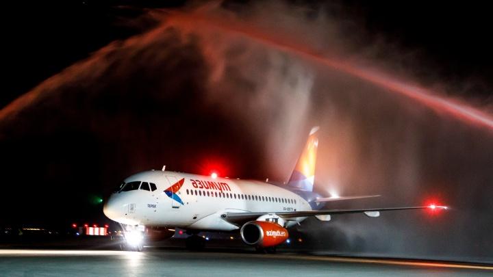 Успеть за час: в Волгоград на новом самолете из Ростова-на-Дону прилетели фанаты авиации