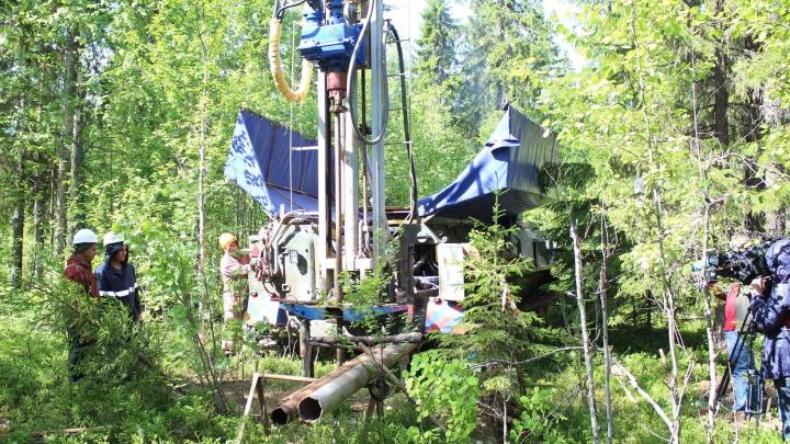 «Идёт бурение трёх скважин»: вблизи Катунино изучают грунт на месте предполагаемого полигона ТКО