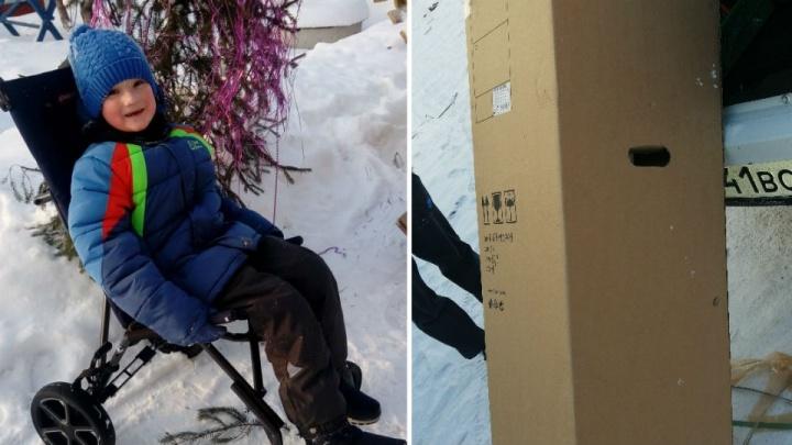 Новогоднее чудо: в Башкирии неравнодушные собрали деньги на коляску мальчику-«бабочке»