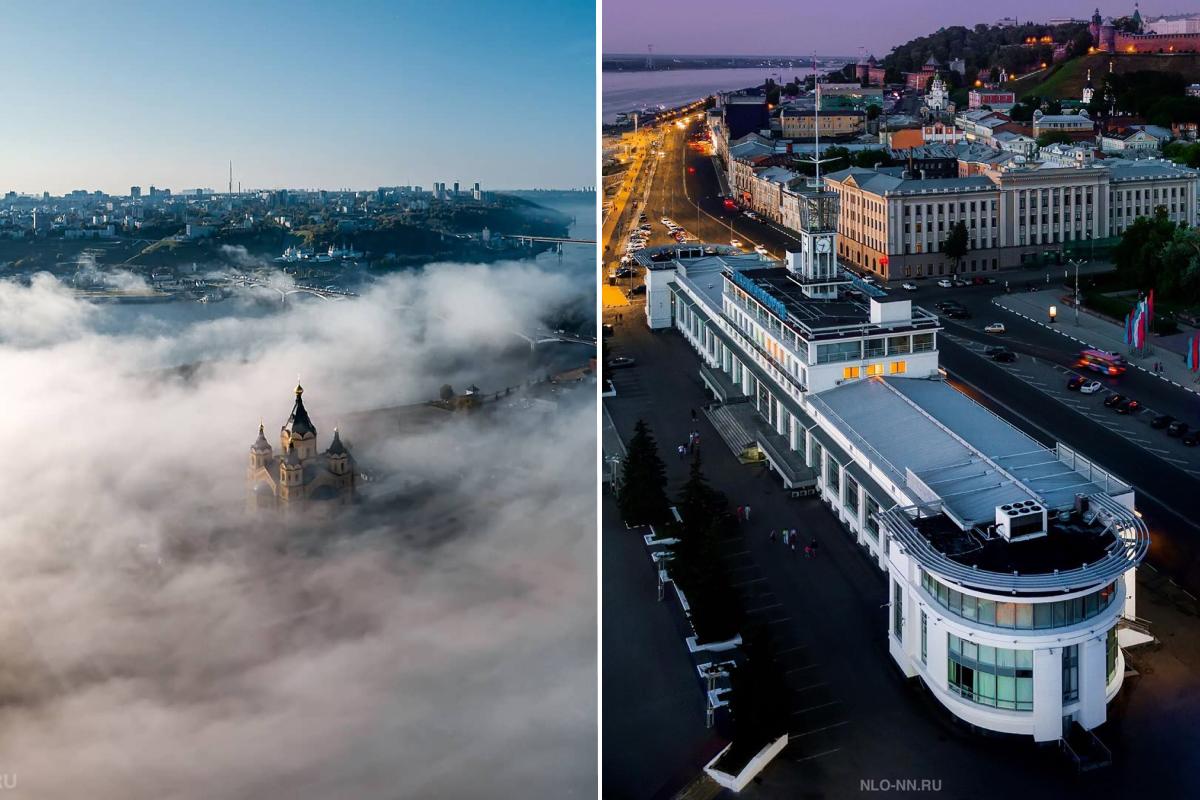 Лучшие фото этой недели: Нижний Новгород в облаках и корабль, который никогда не уплывет