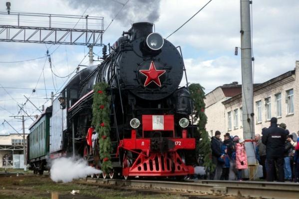 Исторический поезд будет состоять из трех вагонов