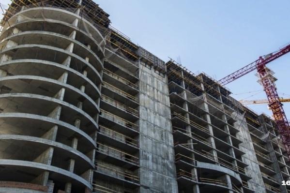 В Ростовской области выявлено 342 проблемных объекта долевого строительства