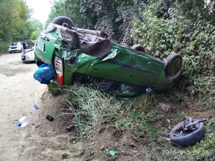 Машина Николай Чеканова — сам водитель не пострадал
