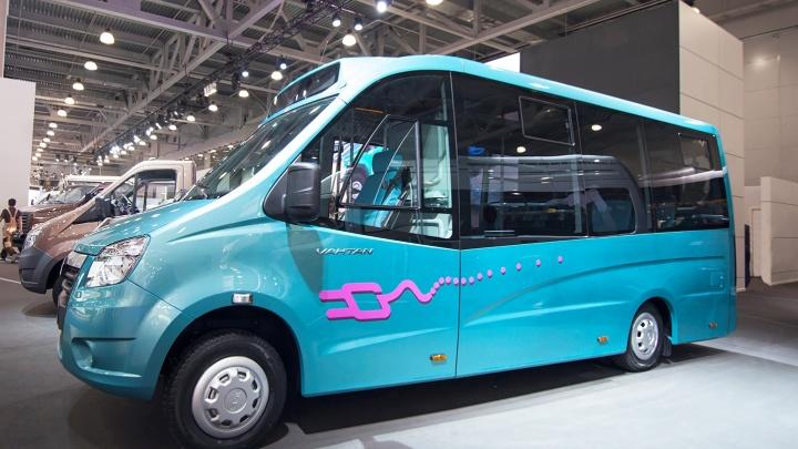 Электробус «ГАЗель NEXT» показали на Горьковском автозаводе