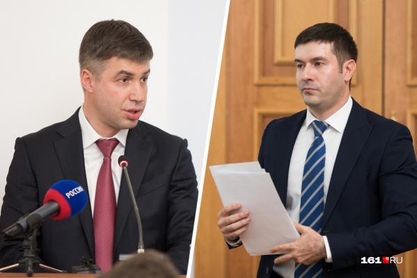 На пост сити-менеджера Ростова претендуют Алексей Логвиненко и Сергей Заревский