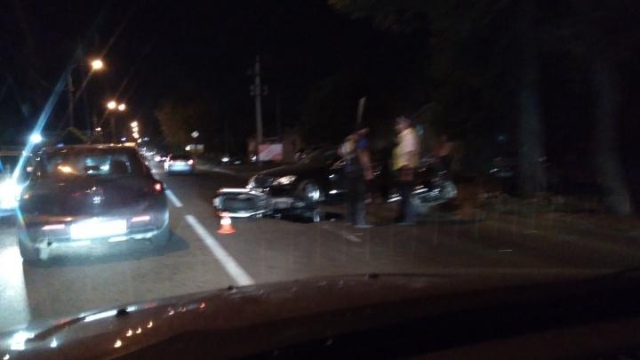 В Ростове произошло три ДТП с участием мотоциклиста и легковушек