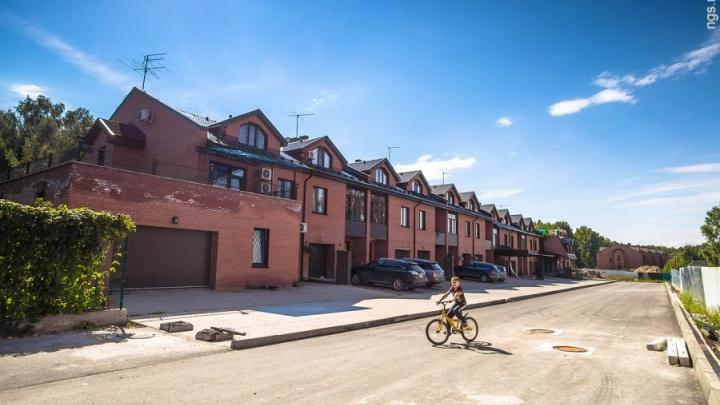 В Новосибирске нашли самые большие микрорайоны с малоэтажным жильём