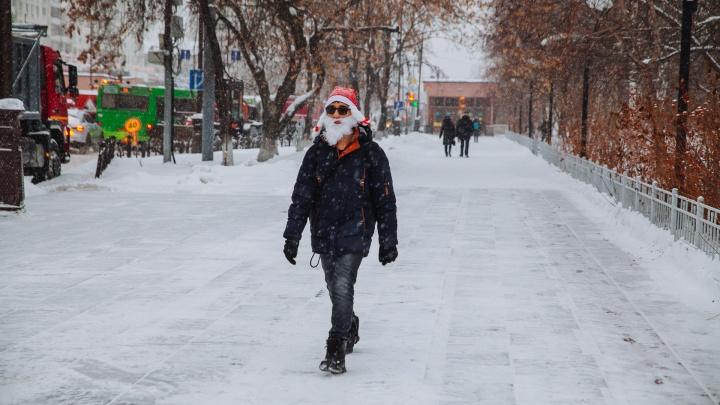 Плавное похолодание и резкое потепление обещают тюменцам синоптики с 6 по 10 января