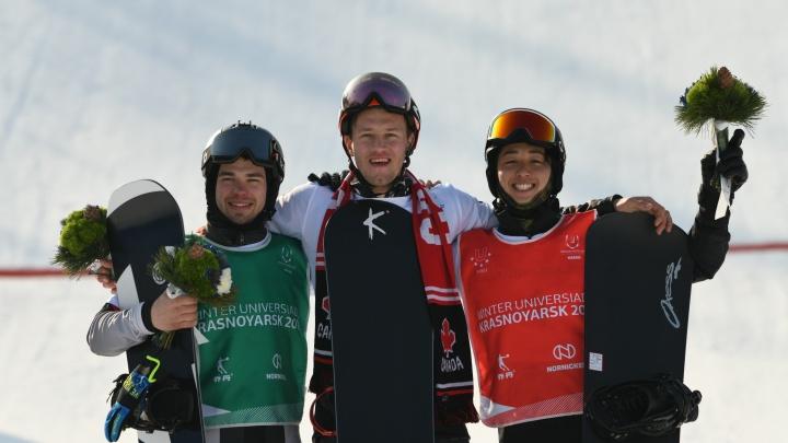 Новосибирский сноубордист стал вторым на Универсиаде