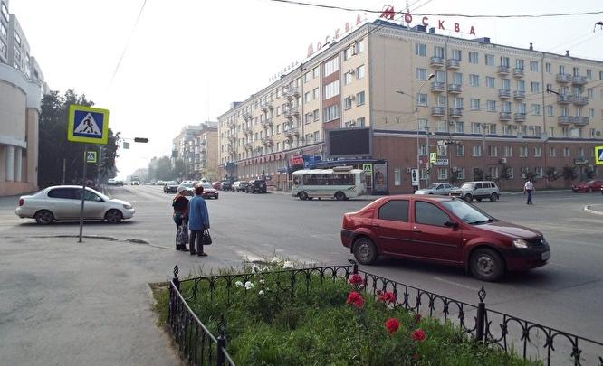 На перекресте улиц Гоголя— Красина в Кургане реорганизовано дорожное движение