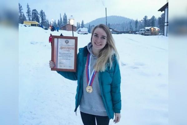 Кристина стала лучшей в России по фристайл-акробатике