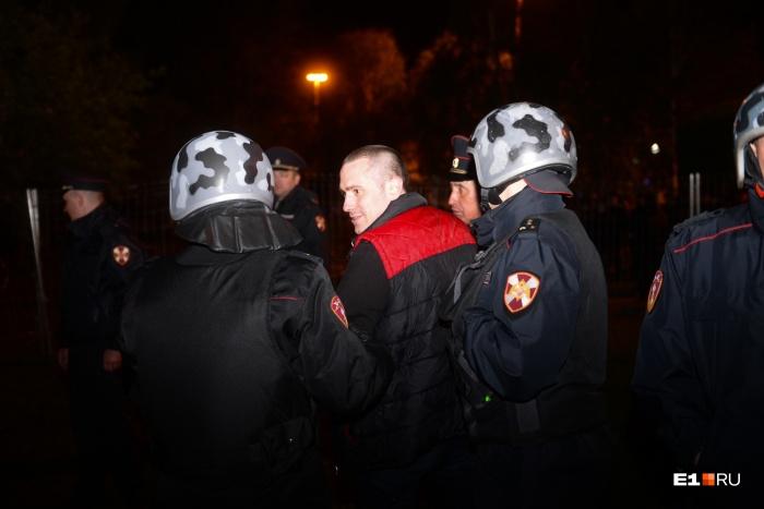 Больше всего задержанных в сквере было 14 мая